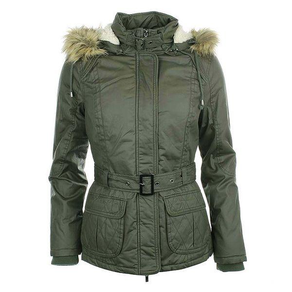 Dámský šedozelený kabátek COMPANY&CO