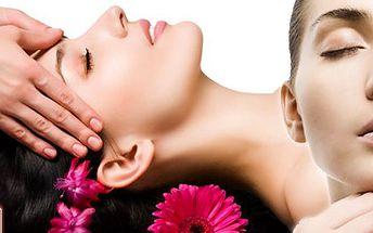 Antistresová masáž hlavy, obličeje a chodidel