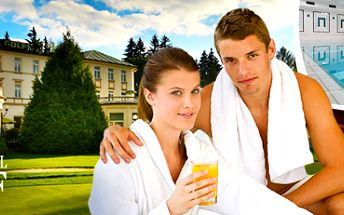Luxusní 3 dny pro 2 osoby v Mariánských Lázních: výběr z 5 wellness balíčků!