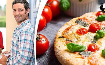 2x maxi pizza + rozvoz po celém Hradci