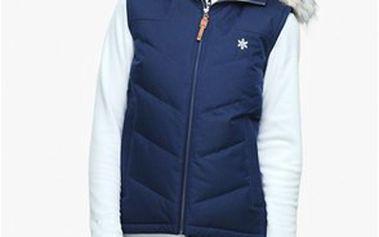 Hřejivá dámská vesta s kapucí