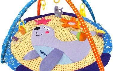 Vzdělávací hrací deka s hrazdou tuleň