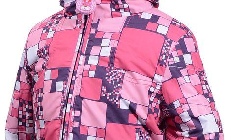 Zimní bunda s umělým kožíškem