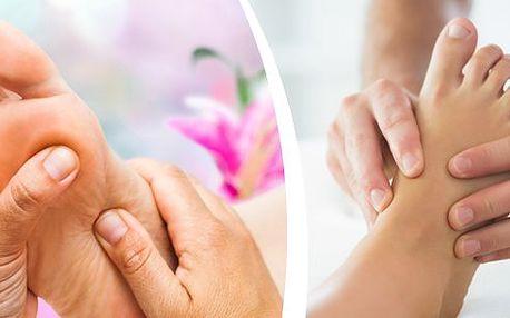 Uvolňovací a reflexní masáž chodidel 30 minut! Masáž a akupresura reflexních bodů na chodidlech, které startují a aktivují orgány v těle včetně lymfatického systému. Velmi příjemná a potřebná masáž.