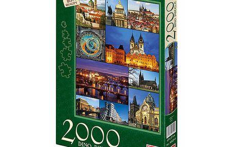 DINO Puzzle 2000 dílků - Praha