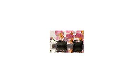 Aroma masáž lávovými kameny záda + šíje