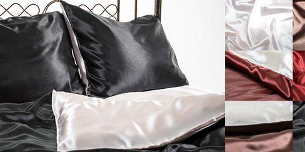 Luxusní 5dílné saténové povlečení Giovanelli: hebký dotek luxusu.