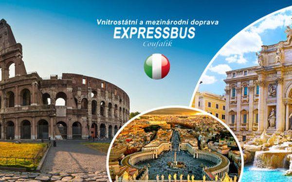 Do Říma, Vatikánu a Florencie s láskou