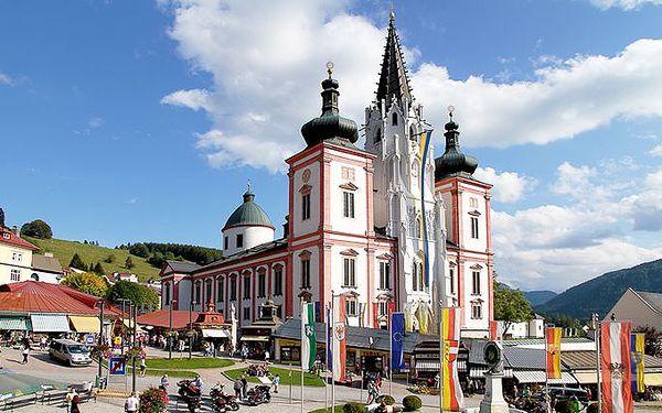 2denní zájezd na Medvědí soutěsku do Rakouska včetně ubytování v penzionu pro 1 osobu