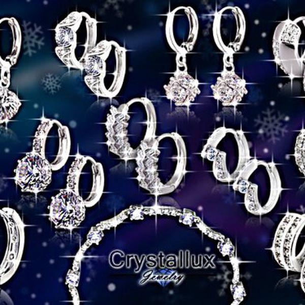 Třpytivé dámské šperky Brillance