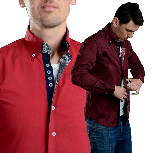 Luxusní pánská košile slim fit!