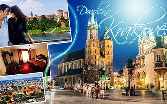 WELLNESS, NÁKUPY i RELAX v Krakově! 3denní pobyt pro DVA se snídaní! V ceně bazén, vířivka, sauna, fitness centrum a volný vstup na zimní stadion! Poznejte krásy Krakova s možností prodloužení pobytu!