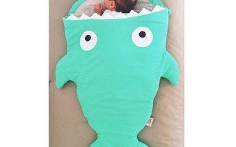 Dokonalý rybičkový dětský spací pytel (98x73cm)