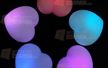 Noční mini led světlo ve tvaru srdce (2 ks) a poštovné ZDARMA! - 9999916474