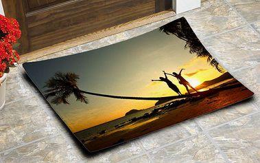 Rohožka s vlastní fotografií v praktickém rozměru 60x40 cm