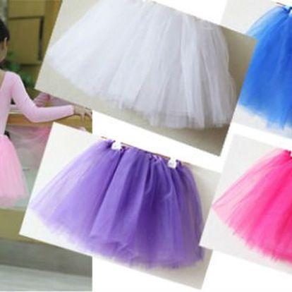 Klasická baletní sukénka TUTU v 5 barvách