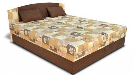 Čalouněná postel Kapa pro královské poležení
