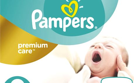 Pampers Plenky Premium Care 0 Newborn (do 2,5kg) - 30ks