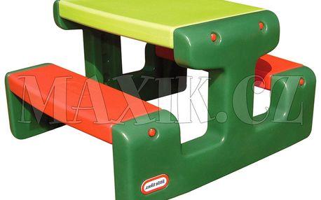 Piknikový stoleček Junior Evergreen Little Tikes