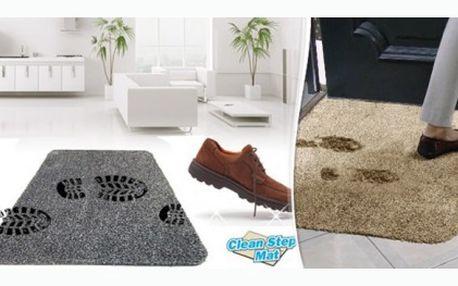Praktická rohožka do každé domácnosti, díky které všechny nečistoty zůstanou za vašimi dveřmi.