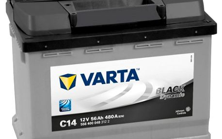 Autobaterie Varta Black Dynamic 12V 56Ah 480A