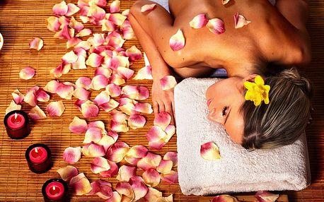 60 minut tantra masáže pro pár + 60 minut sauny s bazénkem