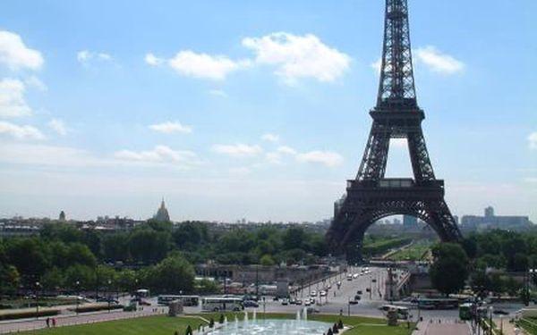 Paříž klasická, Francie, Ile-de-France, 4 dní, Autobus, Snídaně