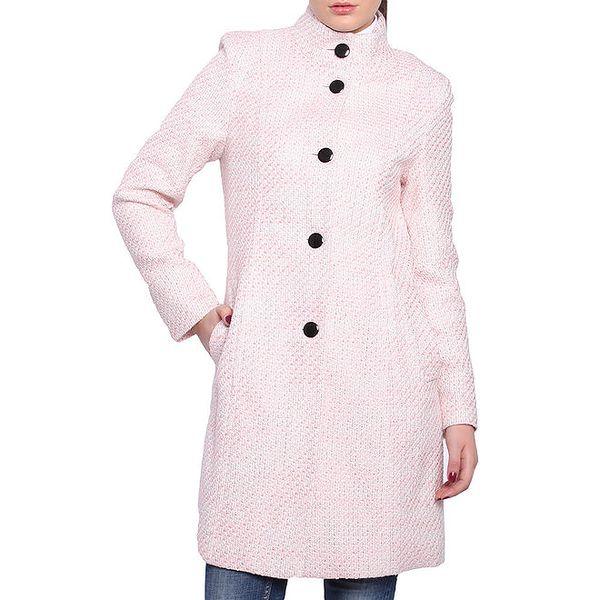 Dámský světle růžový kabátek Vera Ravenna