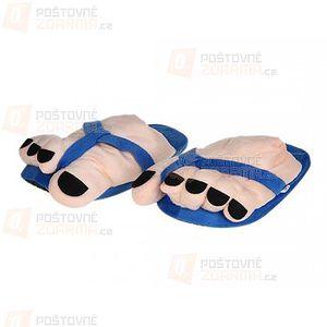Pánské papuče s obrovskými prsty a poštovné ZDARMA! - 9999916428