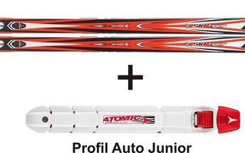 Běžky s vázáním pro juniory Atomic Ski Tiger G2 Syncro + Auto Universal