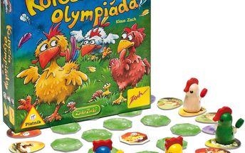 Rychlá společenská hra Kuřecí olympiáda