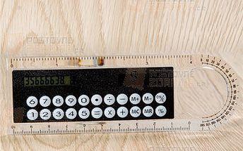 Multifunkční pravítko s kalkulačkou 4 barvy a poštovné ZDARMA! - 9999916429