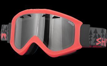 Lyžařské brýle Shred Tastic Forest Neon Rust