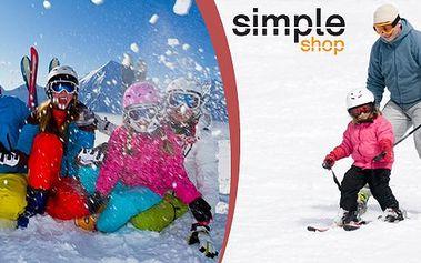Půjčení lyží pro děti (cca 2-6 let) na celou sezonu - až do 31.5.2015! Chcete vyzkoušet, jestli Vaše dítko budou bavit zimní radovánky na lyžích? Lyže nekupujte, ale půjčte jim je na celou zimu za cenu půjčení na týden.