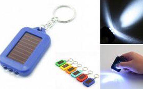 Solární svítilna 3x LED