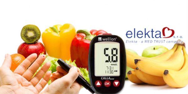 Glukometr Wellion® CALLA Mini! Přístroj na měření množství glukózy v krvi + DÁREK!