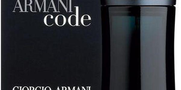 Pánská toaletní voda Giorgio Armani Black Code 75ml