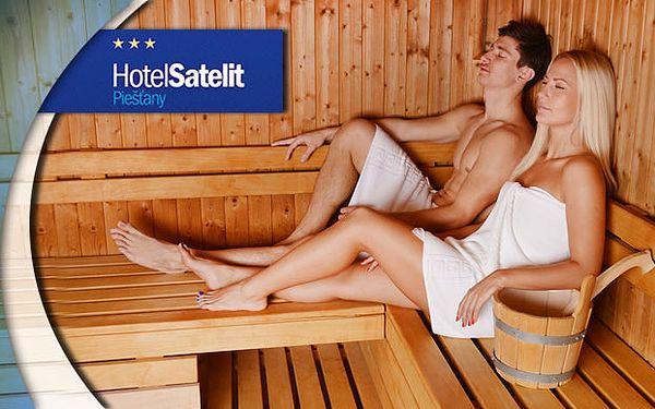 Procedury a odpočinek v piešťanském Hotelu Satelit***
