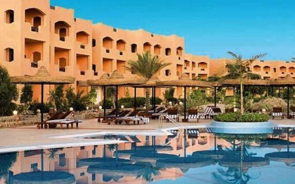 Egypt, oblast Hurghada, letecky, snídaně, ubytování v 3* hotelu na 8 dní