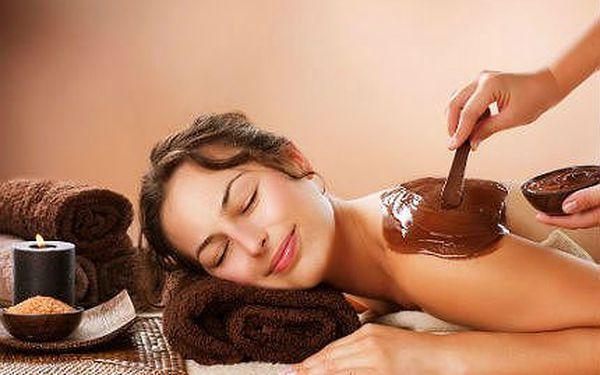 Čokoládová masáž - 50minutová masáž pravou čokoládou
