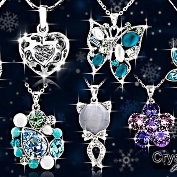 Okouzlující dámské šperky s krystaly Swarovski Elements