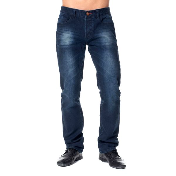 Pánské modré šisované džíny Paul Stragas