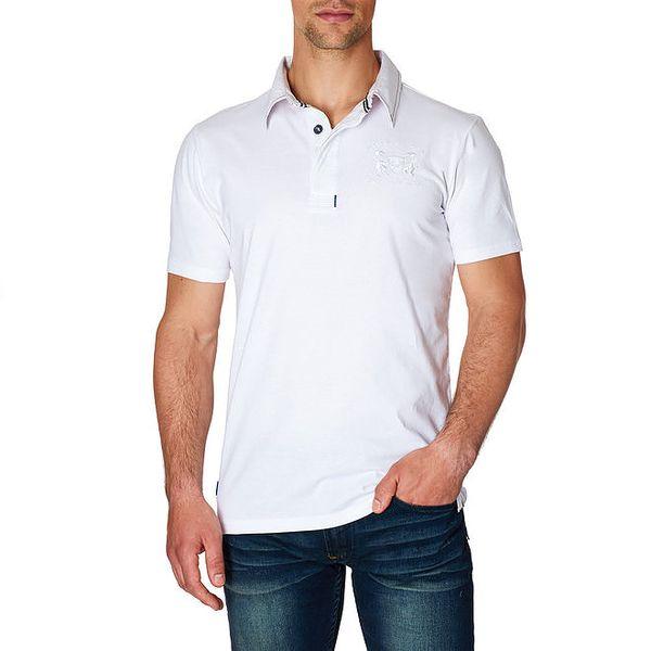 Pánské bílé polo tričko Paul Stragas