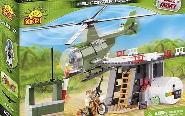 COBI - Základna s helikoptérou, 200 k, 2f