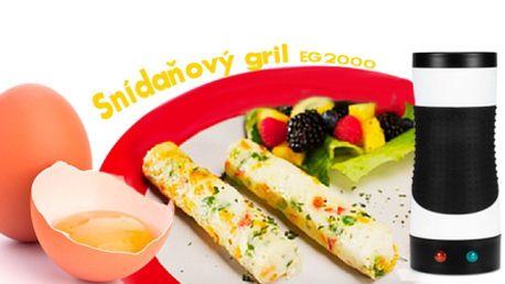 Snídaňový gril Breakfaster EG2000 pro přípravu nejrůznějších pokrmů!