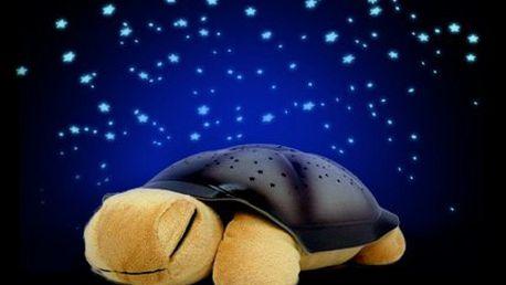 Magická svítící želvička pro klidné usínání!