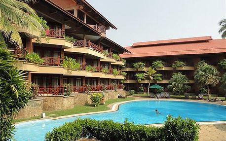 Hotel ROYAL PALMS BEACH, Srí Lanka, letecky, polopenze