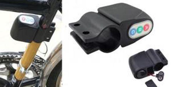 Alarm na kolo s čidlem otřesu