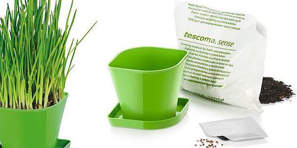 Tescoma souprava pro pěstování bylinek SENSE, pažitka