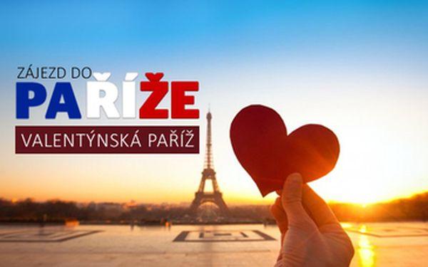 4-denní zájezd do Paříže na svátek zamilovaných 12. - 15.2.2015 za 2098 Kč za os.!! Jedině s iLoveTravel.cz za nejlepší cenu na trhu